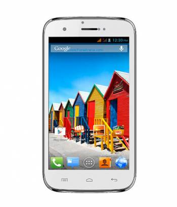 Micromax Canvas Music A88 White Color